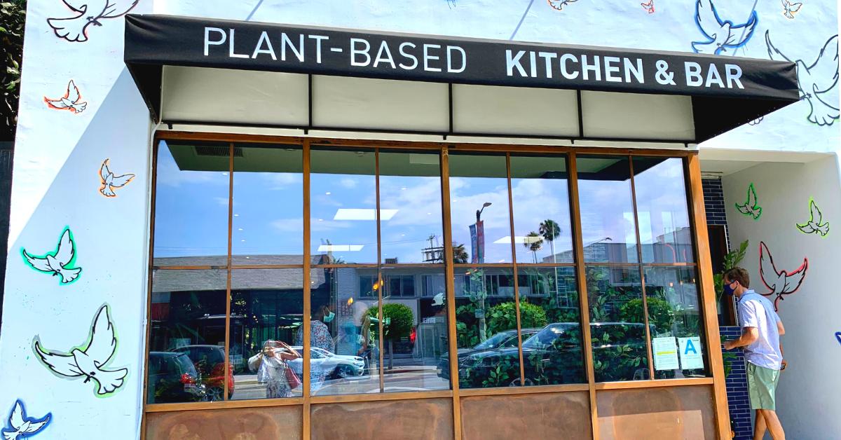 ロサンゼルスのヴィーガン・レストラン: Nic's On Beverly