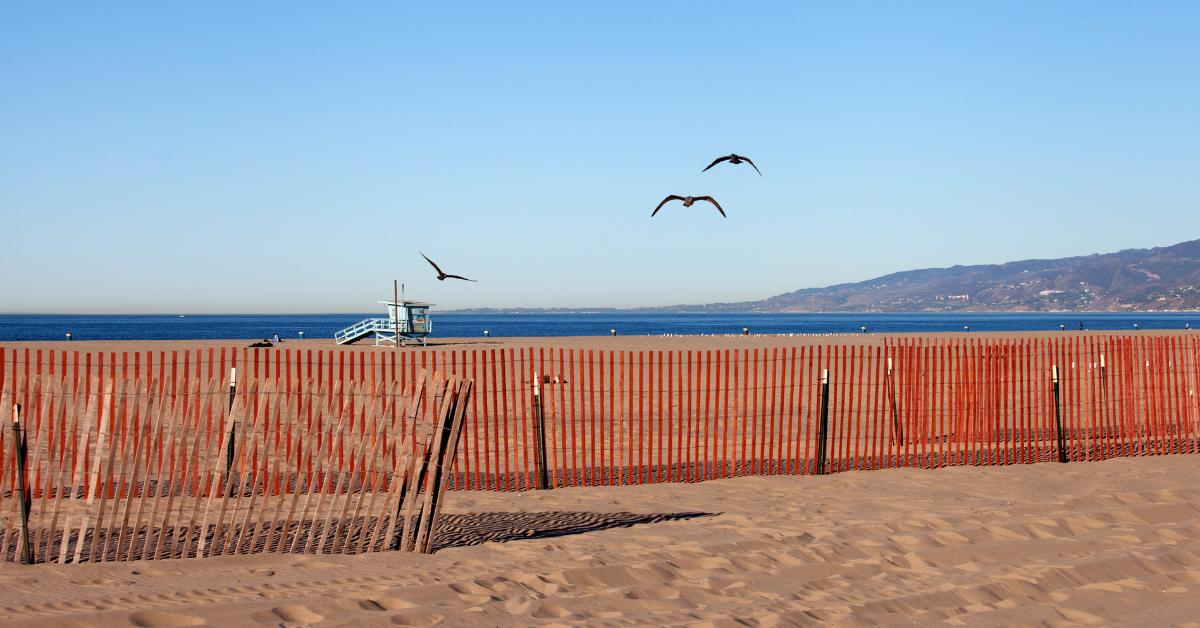 カリフォルニアのサンタモニカ・ビーチ America-Traveling.com